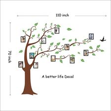 Lot of 10 Sheets of Family Tree Wall Decal Great for Living room Wall Decor