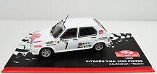 Citroen Visa 1000 Pistes Rallye Monte-Carlo 1985 # 7 Maßstab 1:43
