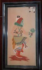 Native american sand painting D. Ellison Shiprock NM 1970?