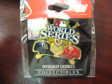 2008 World Series Dueling Pin - Phillies vs Rays Ver. 1