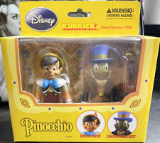Pinocchio Jiminy Cricket Disney Kubrick 2 Pack Medicom Action Figure New Sealed