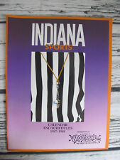Indiana Sports Wrecks Inc Bobby Knight Calendar And Schedule 1987 Magazine