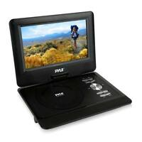 10'' Portable CD/DVD Player, HD Widescreen Display Built-in Rechargeable Battery