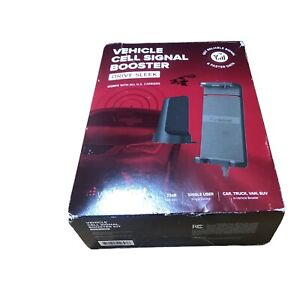 weBoost Drive Sleek 4G LTE Car SUV Cell Phone Signal Booster 470135