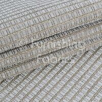 Textured Weave Chenille Soft Upholstery Curtain Sofa Silver Grey Material Fabric