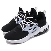 Nike React Presto Black White Men Running Casual Shoes Sneakers AV2605-003