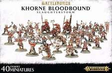 Warhammer Age of Sigmar Battleforce 2016 Khorne Bloodbound (Slaughterstorm) OOP!