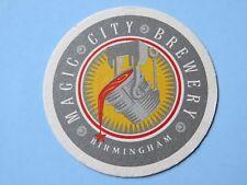 Beer Coaster ~*~ MAGIC CITY Brewery ~ Birmingham, ALABAMA ** Open From 1995-2000