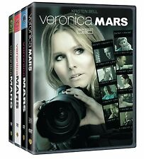 Veronica Mars Complete Series Seasons 1-3 + Movie DVD Set BRAND NEW Free Ship