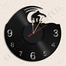 Surf Wall Clock Vinyl Record Clock