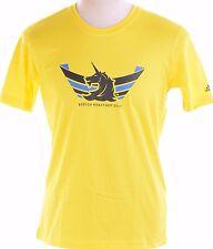 Adidas Performance Boston Marathon 2013 Men's Bright Yellow T-Shirt M NWOT