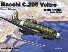 Squadron/Signal Walk Around 5558 - Macchi C.205 Veltro - Color Series - NEW