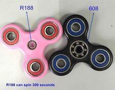 5 X R188++Bearing-5 Min Spin-Fidget Spinner -  USA Ship-ABS Resin-HQ
