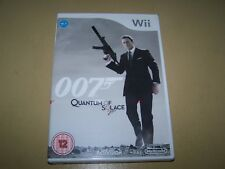 007: Quantum of Solace Wii **New & Sealed**