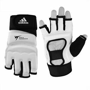 adidas Taekwondo TKD Fighter Gloves Martial Arts Fist Guard WTF Approved