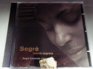 RENTOCCHINI-SEGRE. FELICITA SEGRETA. CD POESIE IN MUSICA