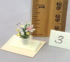 Dollhouse Miniature 1/4 scale flower arrangement #3