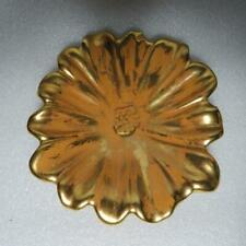 Stangl Granada Gold Pottery Flower Candy Trinket Dish Bowl Number 4033 SEE NOTES