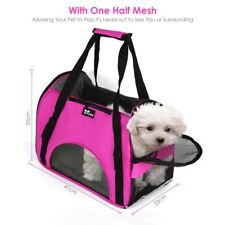 Per Cane Gatto Cucciolo Gattino vettore leggero traspirante forte rosa Kennel Bag