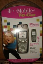 NOKIA 3595 SILVER GREY MOBILE PHONE T-MOBILE TO GO PREPAID CELL PHONE NEW SEALED
