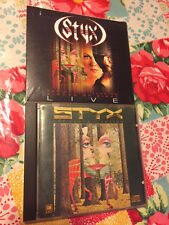 STYX The Grand Illusion/Pieces of Eight LIVE 2 CD SET NEW + BONUS CD Made Japan!