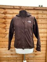 The North Face Brown Coat Size XS HYVENT Waterproof Jacket Rain Coat