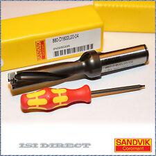 880 D1600L20-04 SANDVIK Drilling Tool, CoroDrill 16MM