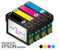Multipack 4 x Premium Edible Ink Cartridges T200XL Epson XP-200 XP-300 XP-410