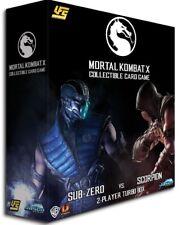UFS CCG Mortal Kombat X 2-Player Starter Turbo Box [Sub-Zero Vs. Scorpion]