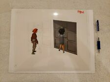 CARMEN SANDIEGO Original Hand Painted Production Animation Cel DIC Entertainment