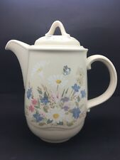 POOLE POTTERY SPRINGTIME COFFEE POT / WATER POT C.1980s DISCONTINUED