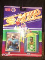 ACE | NFL Football MVP Pin & Card Set - Warren Moon| Brand New