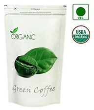 Organic Green Coffee Beans-Decaffeinated & Roasted- 200Gms For Weight Management