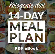 KETO diet 14-Day Meal Plan Cookbook Easy Recipes Weight Loss [DIGITAL]