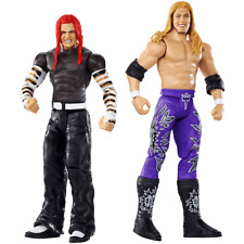 MATTEL WWE GDC03 WRESTLEMANIA JEFF HARDY VS EDGE DAMAGED PACKAGING
