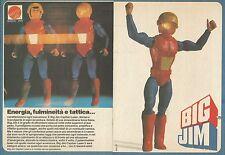 X9489 BIG JIM Capitan Laser - Energia, Fulmineità_Pubblicità 1981 - Advertising