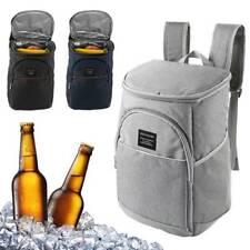 18L Cooler Insulated Backpack Picnic Camping Rucksack Beach Ice Cooling Bag Tool