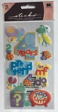 "EK Success Sticko ""4 Years Old"" Dimensional Stickers"