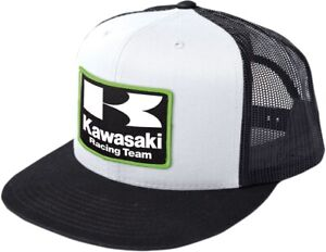 Factory Effex Kawasaki Racing Flexfit Hat - Black/White