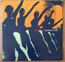 "Iggy Pop Pussy Walk Promo 7"" Vinyl Stooges Garage Punk Rock"