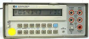 HP Agilent 3478A Hewlett Packard Multimeter, Free Shipping
