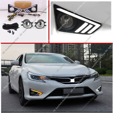 For TOYOTA REIZ / MARK X 2013-2018 LED DRL Daytime Running Lamp + Fog Light Set
