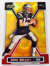 TOM BRADY 2002 PACIFIC *RARE* SSP EXCLUSIVE CROWN GOLD PARALLEL - G.O.A.T $$$$