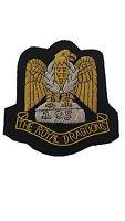 The Royal Dragoons Military Blazer Badge Bullion