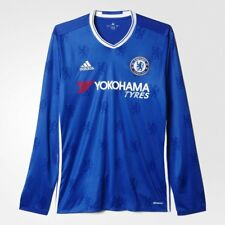 0918a733b13 adidas Chelsea Home Long Sleeve Soccer Football Jersey Shirt Men XL Ai7122