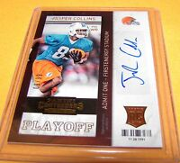 JASPER COLLINS -  2013 Contenders Playoff SP Rookie Ticket /99 - Dolphins RC