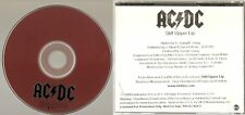 "AC/DC ""Stiff Upper Lip"" Rare US Promo CD"