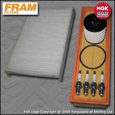 KIT di servizio CITROEN C3 Pluriel 1.4 8V Benzina Aria Olio Cabina FILTRO PLUG 2004-2009