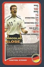 TOP TRUMPS-EUROPEAN FOOTBALL STARS-2008-GERMANY & BAYERN MUNICH-MIROSLAV KLOSE