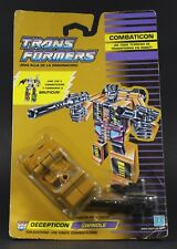 1986 Hasbro Transformers G1 Combaticons SWINDLE Jeep Sealed card MOSC Bruticus